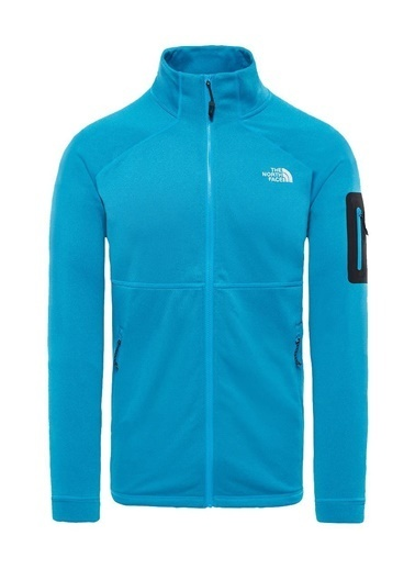 The North Face The North Face Impendor Powerdry Erkek Sweatshirt Mavi Mavi